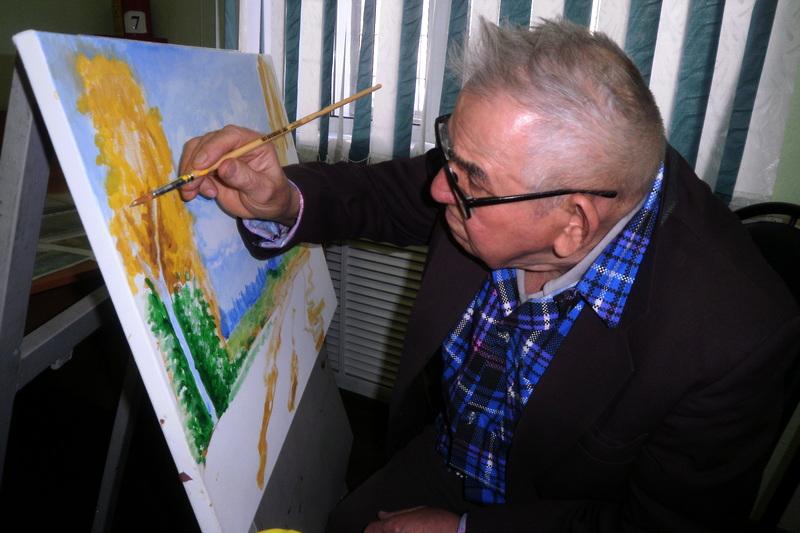 Рисуя сердцем, мероприятие Проекта «Волшебная сила прикосновения к искусству»